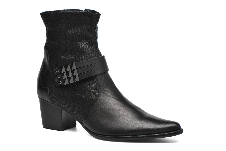 Boots en enkellaarsjes AYRAN *Vo NOIR/Lezard Sp by Madison