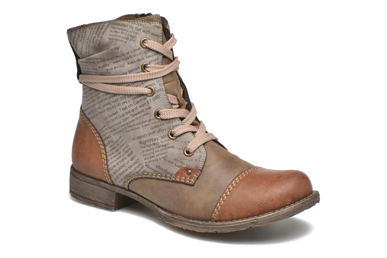 Boots en enkellaarsjes Rieker Bruin