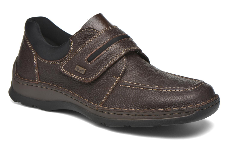 Schoenen met klitteband Rieker Bruin