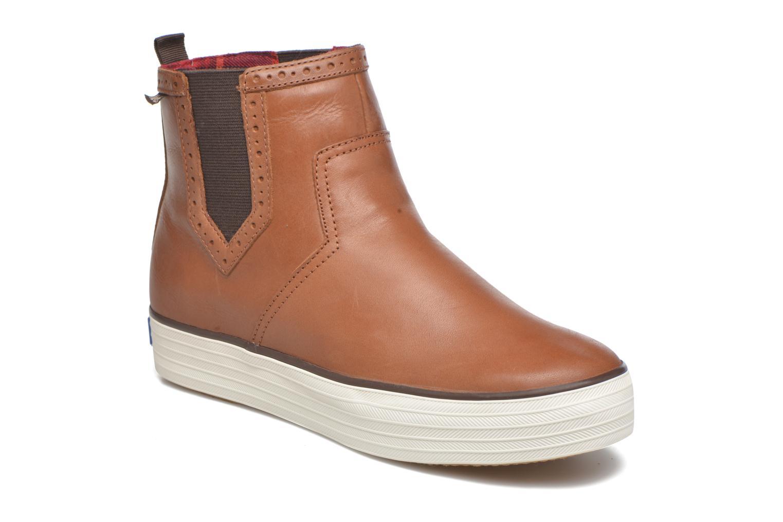 Boots en enkellaarsjes Keds Bruin