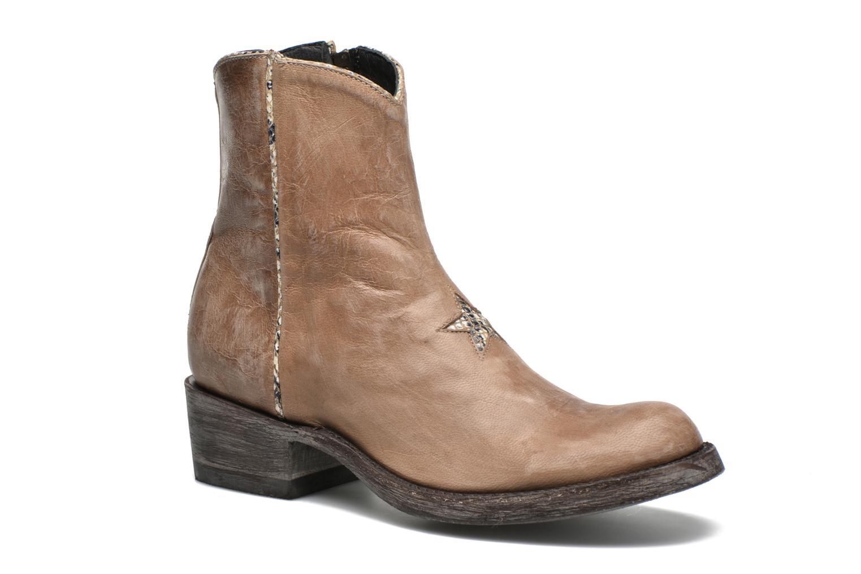 Boots en enkellaarsjes Mexicana Beige