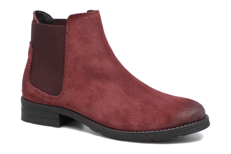 Sofie Leather Boot par Vero Moda