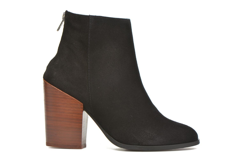 Mujer-Vero-Moda-Dorthe-Leather-Boot-Botines-Negro