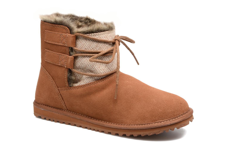 Boots en enkellaarsjes Roxy Bruin