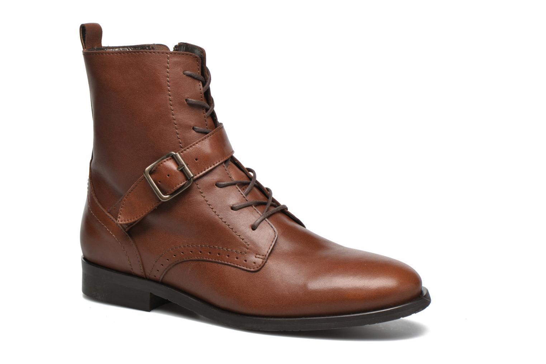 Boots en enkellaarsjes HE Spring Bruin