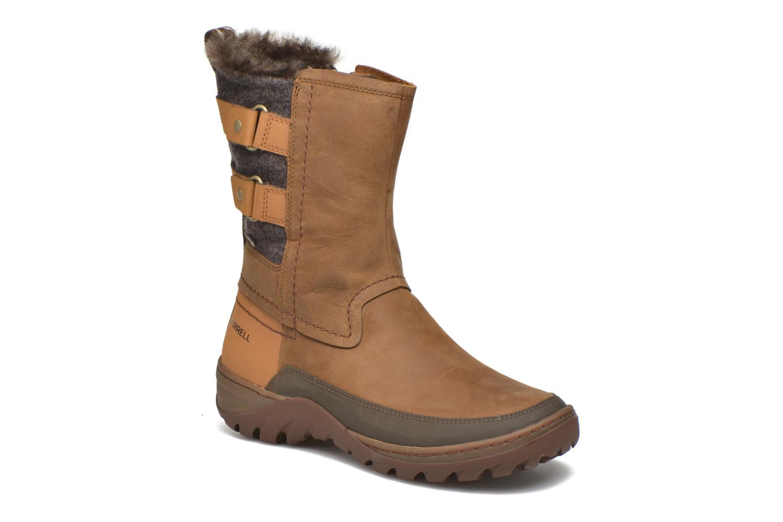 Boots en enkellaarsjes Merrell Bruin