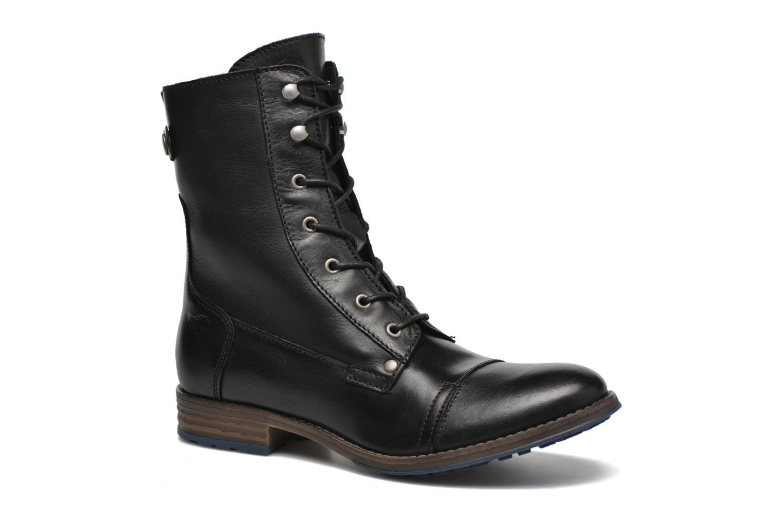mustang boots damen schwarz. Black Bedroom Furniture Sets. Home Design Ideas