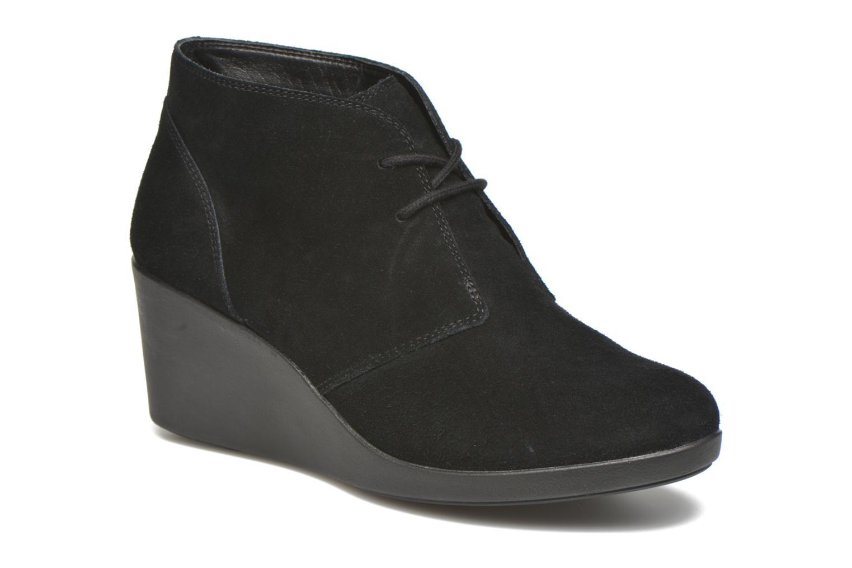 Boots en enkellaarsjes Leigh Suede Wedge Shootie by Crocs
