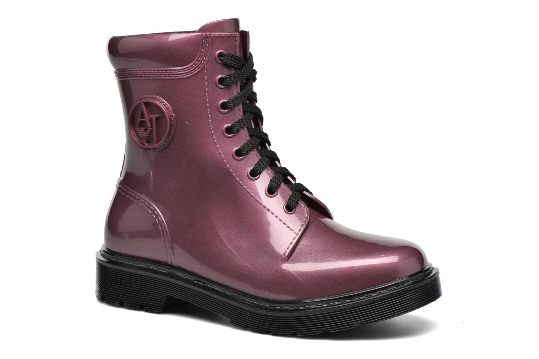 Boots en enkellaarsjes Armani Jeans Bordeaux