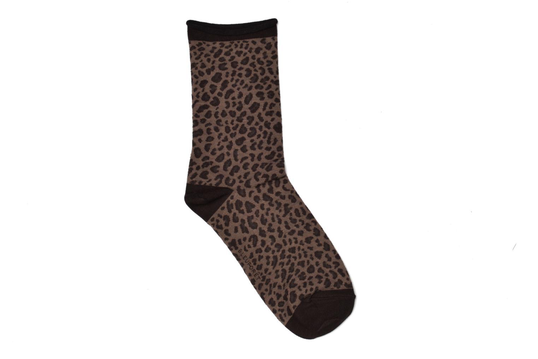 Chaussettes coton léopard