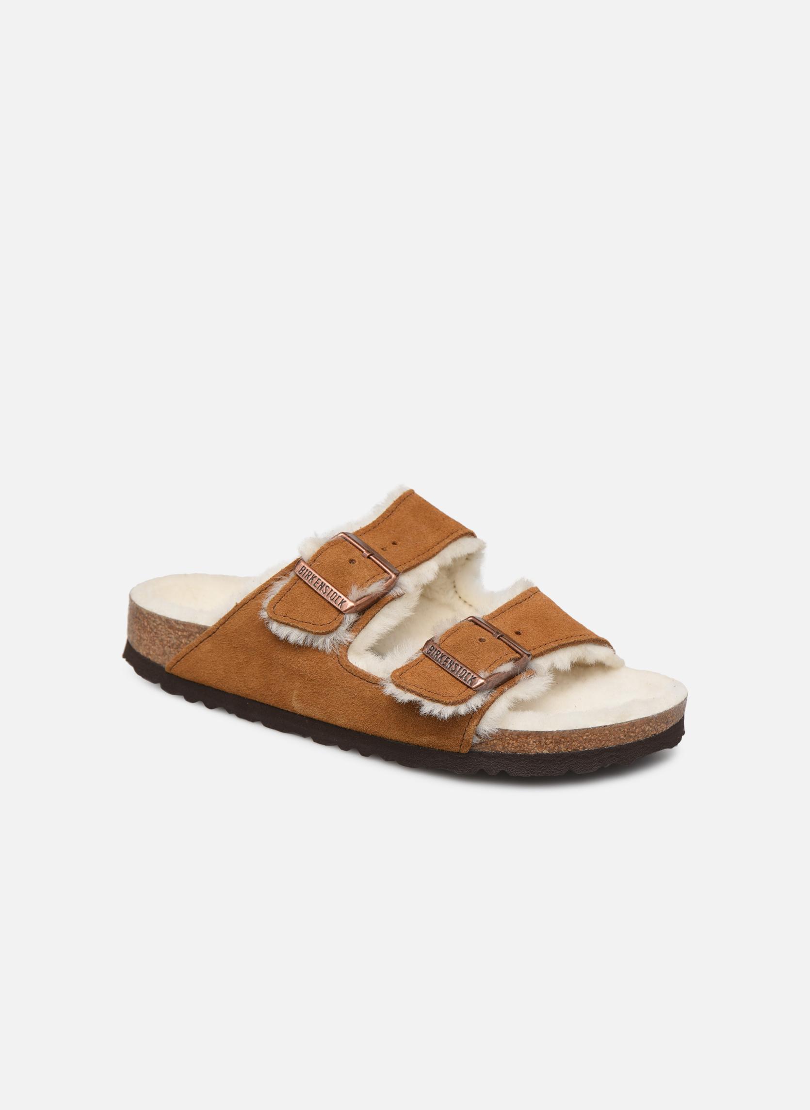 Pantoffels Birkenstock Bruin