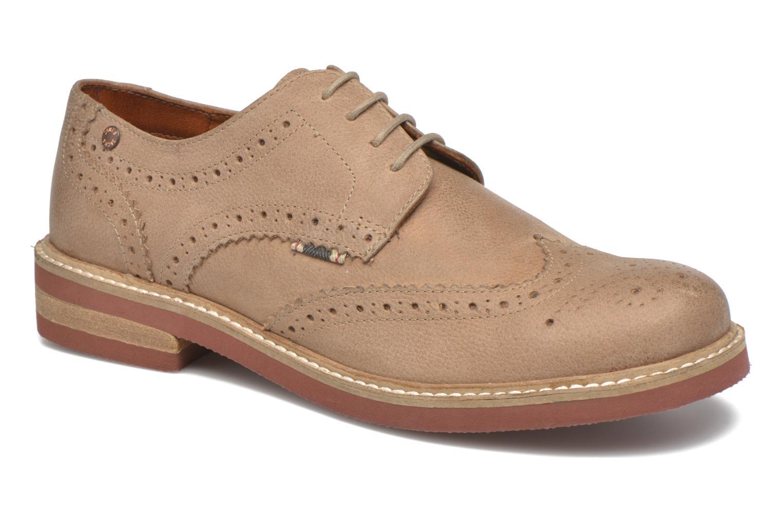JJ Smart Nubuck Brogue Shoe