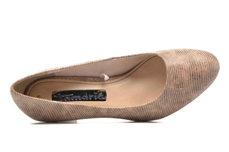 Mujer-Tamaris-Hellebore-Zapatos-De-Tacon-Beige