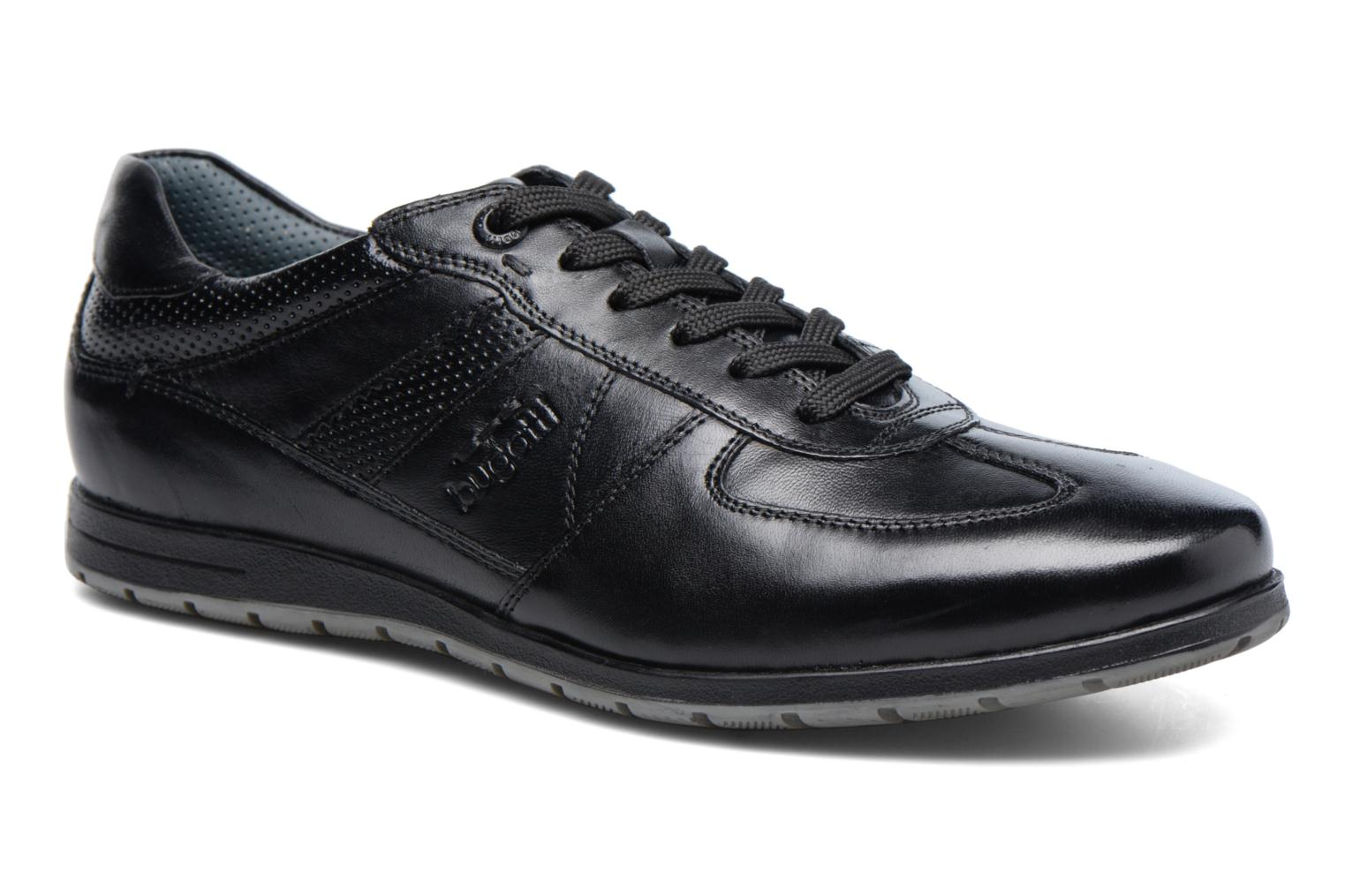 Fretz Fred Hommes Derby Brogues - Noir - 44 Eu JT2qg3iS