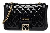 Patent quilted Shoulder bag by Love Moschino - love moschino - sarenza.it