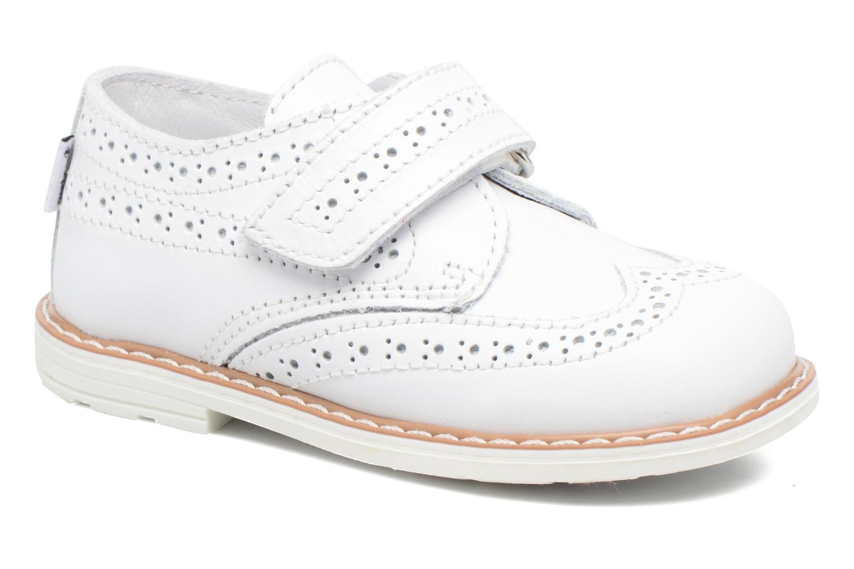 Schoenen met klitteband Melania Wit