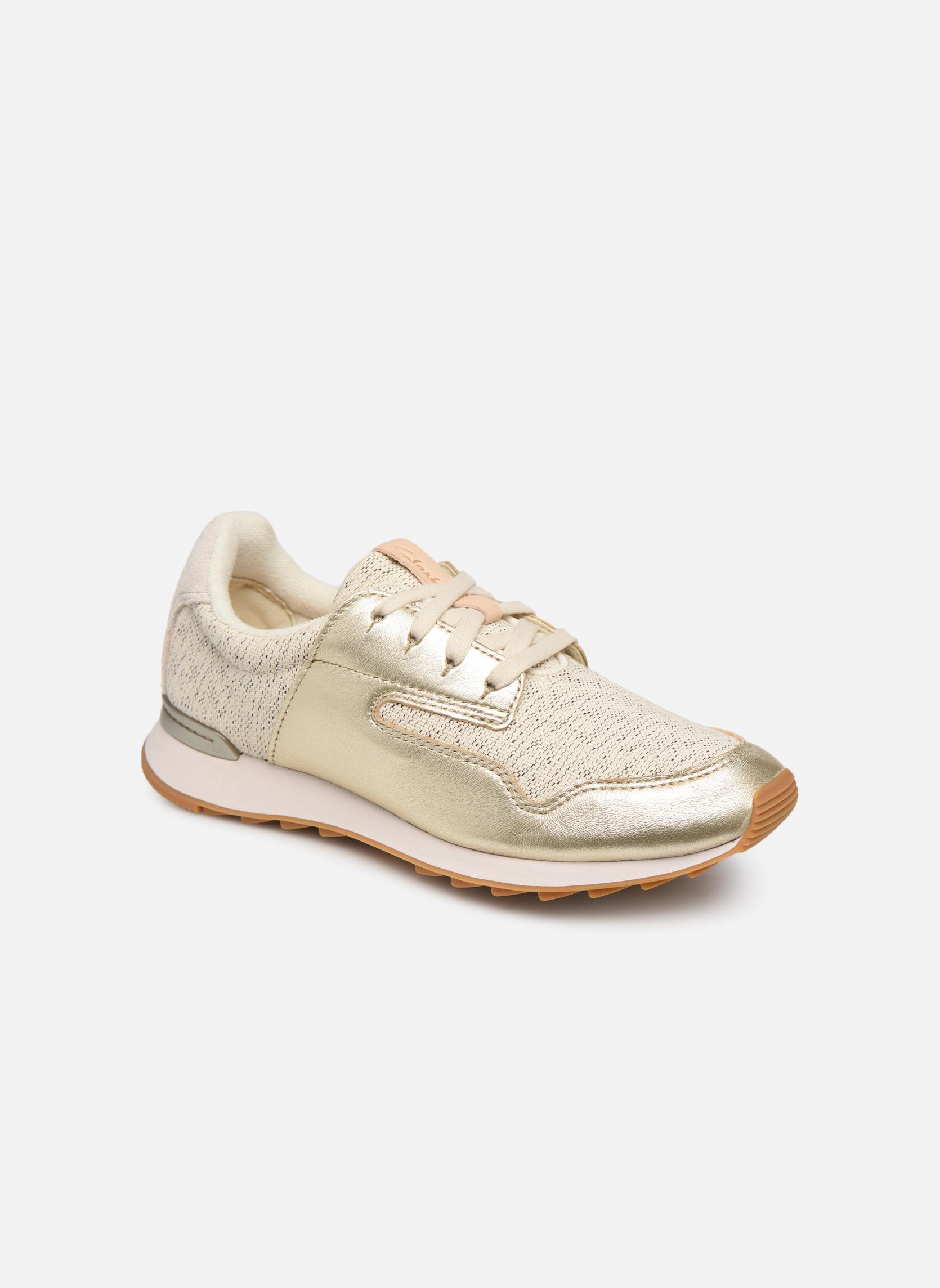 Sneakers Clarks Goud en brons
