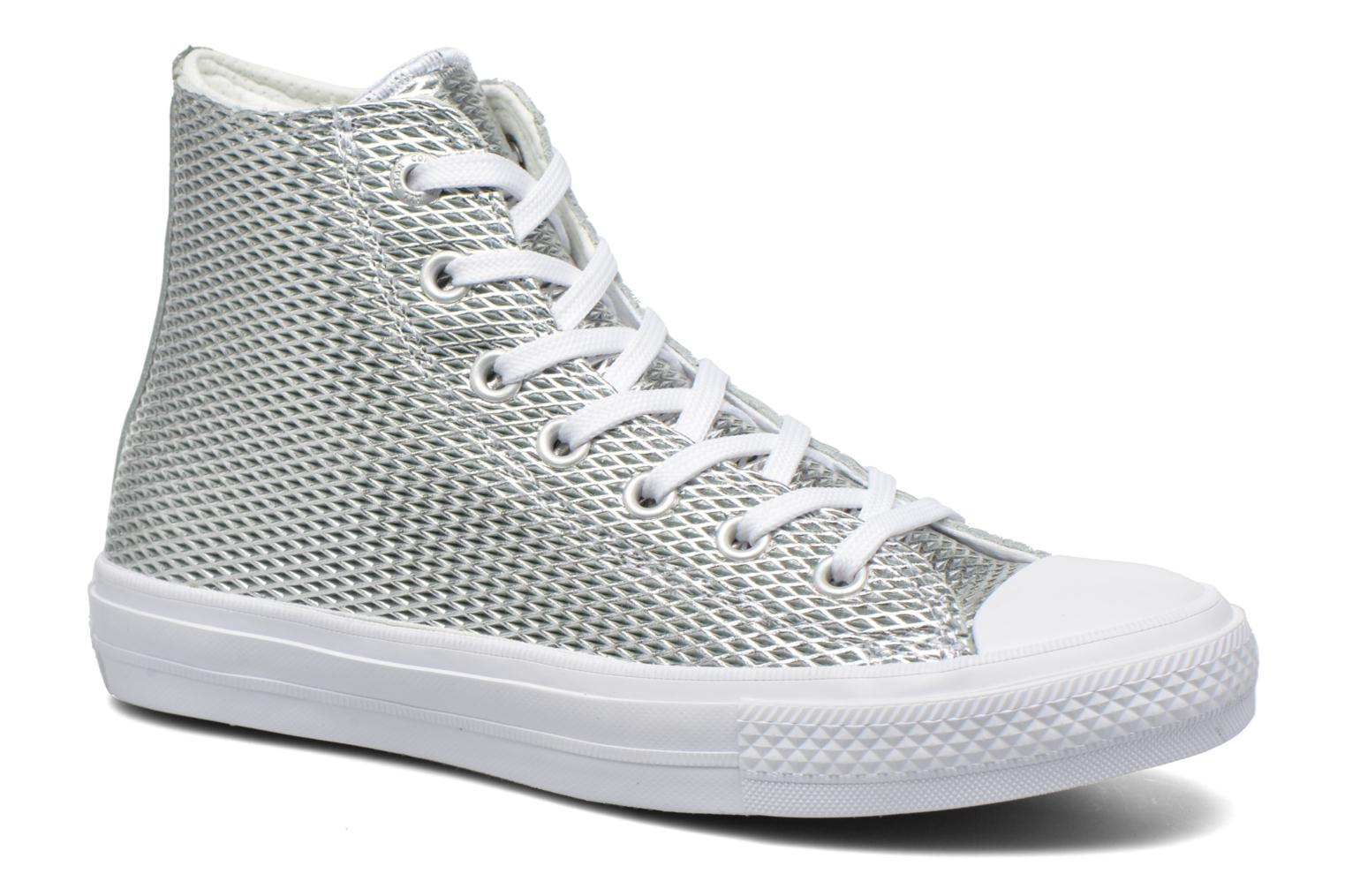 Chuck Taylor All Star II Hi Perf Metallic Leather by Converse