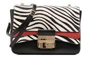 Crossbody Flap Cuir Ginevra by Guess Multicolore- guess - sarenza.it