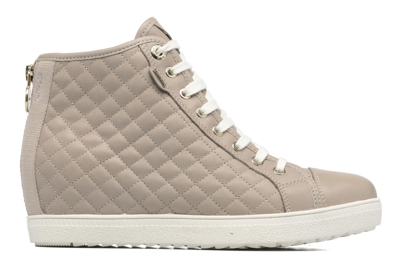 Donna Geox D Amaranth High B Ab Ii Sneakers Beige