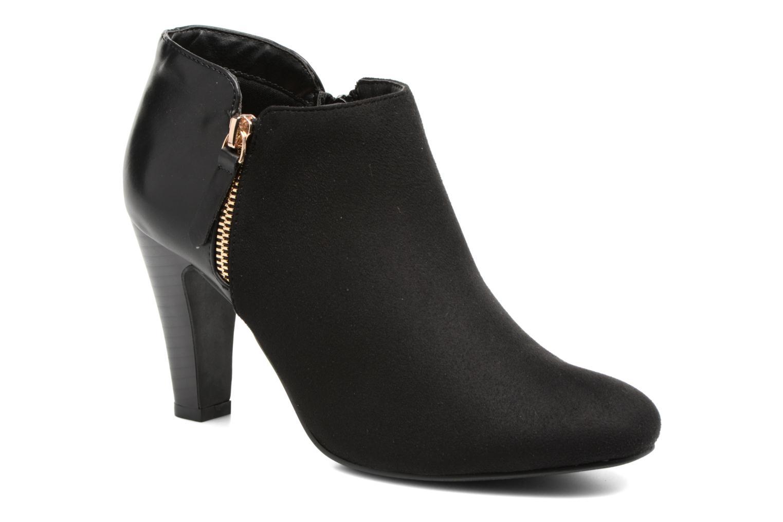 Boots en enkellaarsjes Divine Factory Zwart