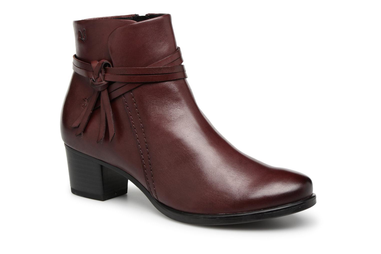 Boots en enkellaarsjes Caprice Bordeaux