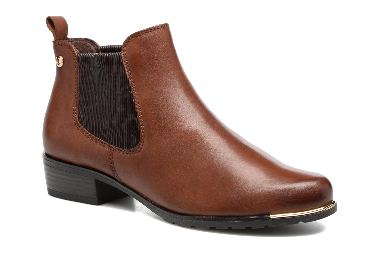 Boots en enkellaarsjes Caprice Bruin