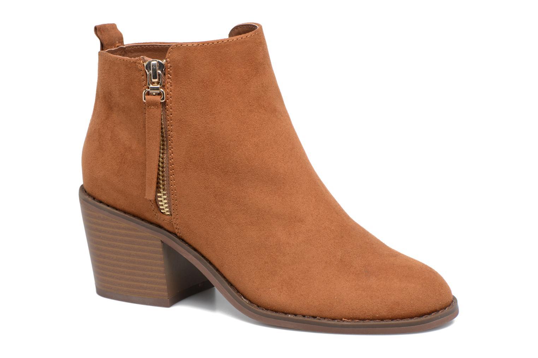 Boots en enkellaarsjes ONLY Bruin