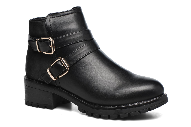 Boots en enkellaarsjes Pieces Zwart