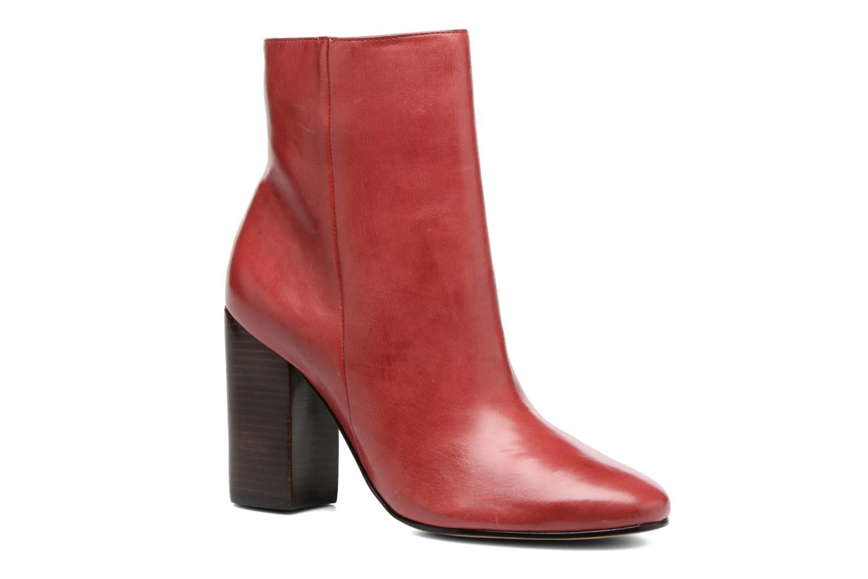 Boots en enkellaarsjes COSMOPARIS Rood
