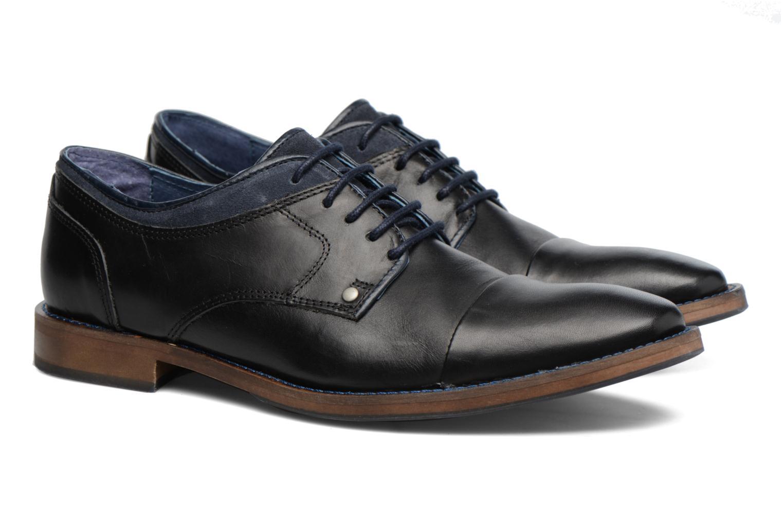 Hombre-Mr-Sarenza-Walber-Zapatos-Con-Cordones-Negro