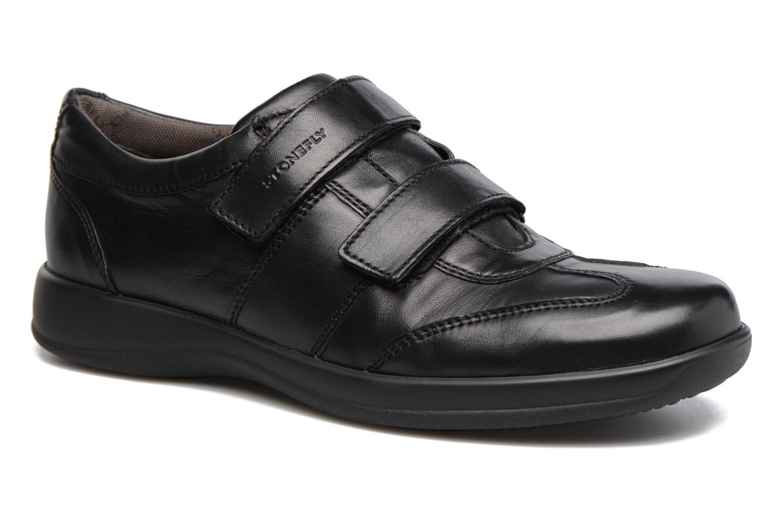 Schoenen met klitteband Stonefly Zwart