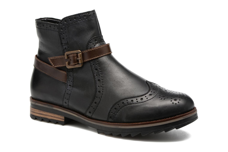 Boots en enkellaarsjes Remonte Zwart