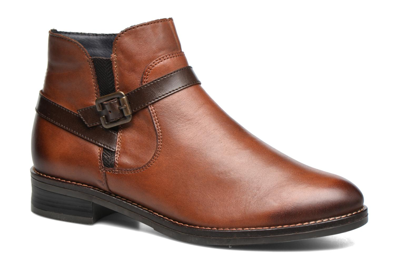 Boots en enkellaarsjes Remonte Bruin