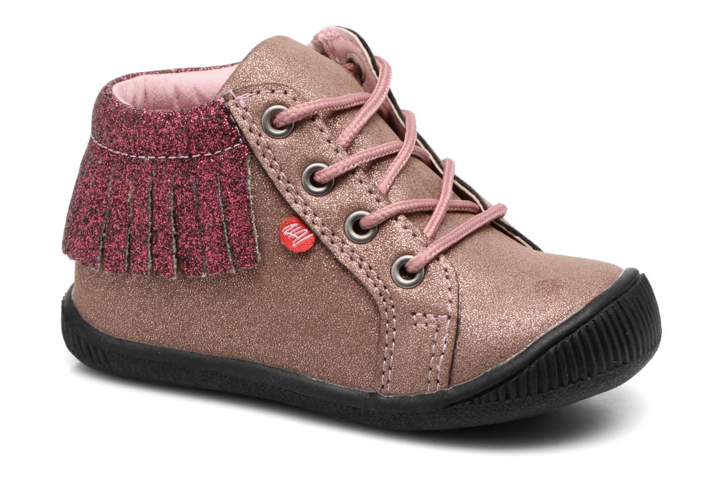 Boots en enkellaarsjes NA! Roze