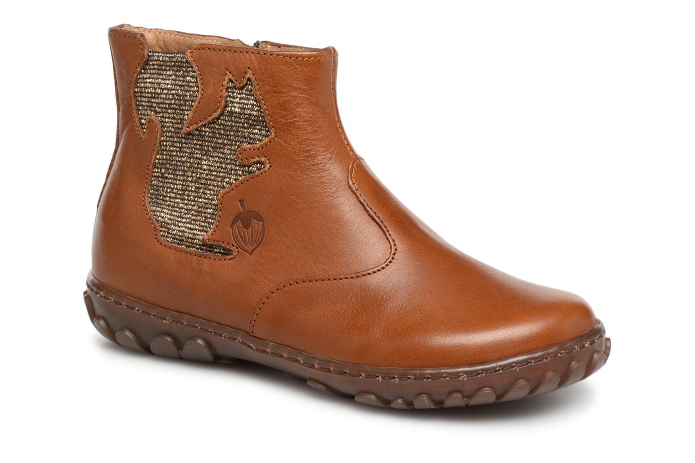 Boots en enkellaarsjes Pom d Api Bruin
