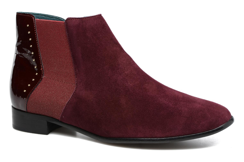 Boots en enkellaarsjes Karston Bordeaux