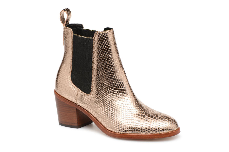 Boots en enkellaarsjes Paul Smith Goud en brons