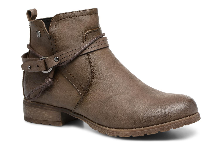Boots en enkellaarsjes Tom Tailor Bruin