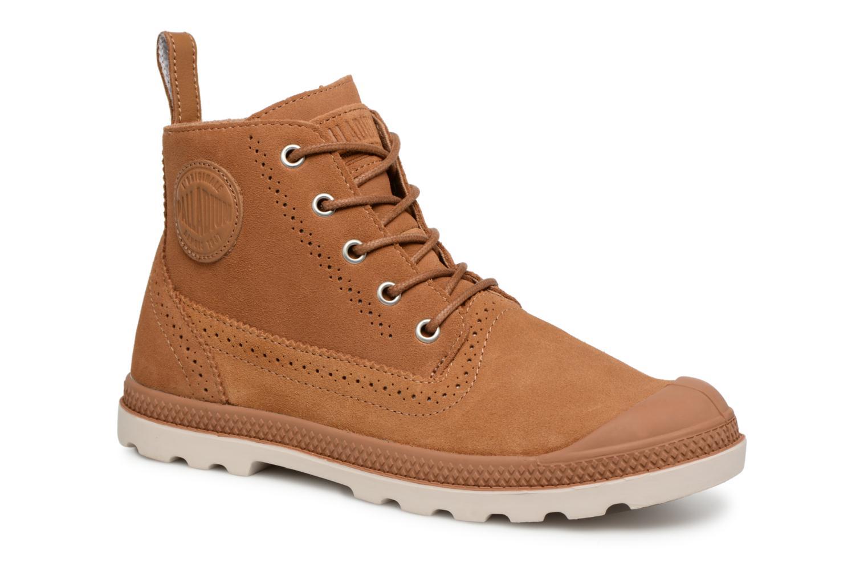 Boots en enkellaarsjes Palladium Bruin