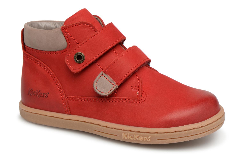 Boots en enkellaarsjes Kickers Rood
