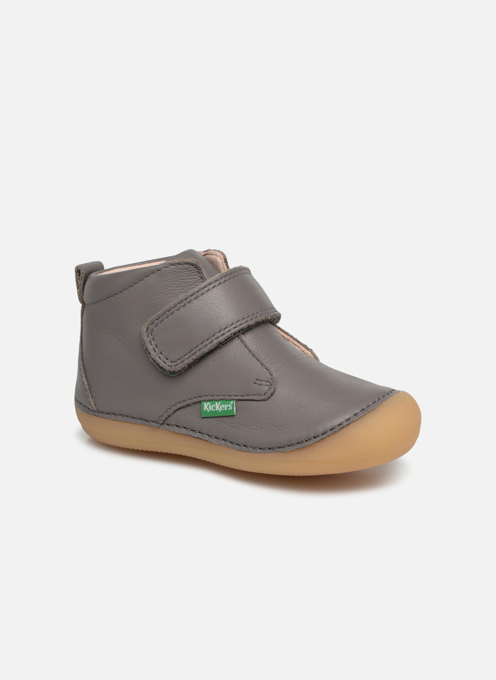 Boots en enkellaarsjes Kickers Grijs