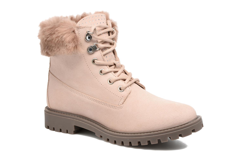 Boots en enkellaarsjes Guess Roze