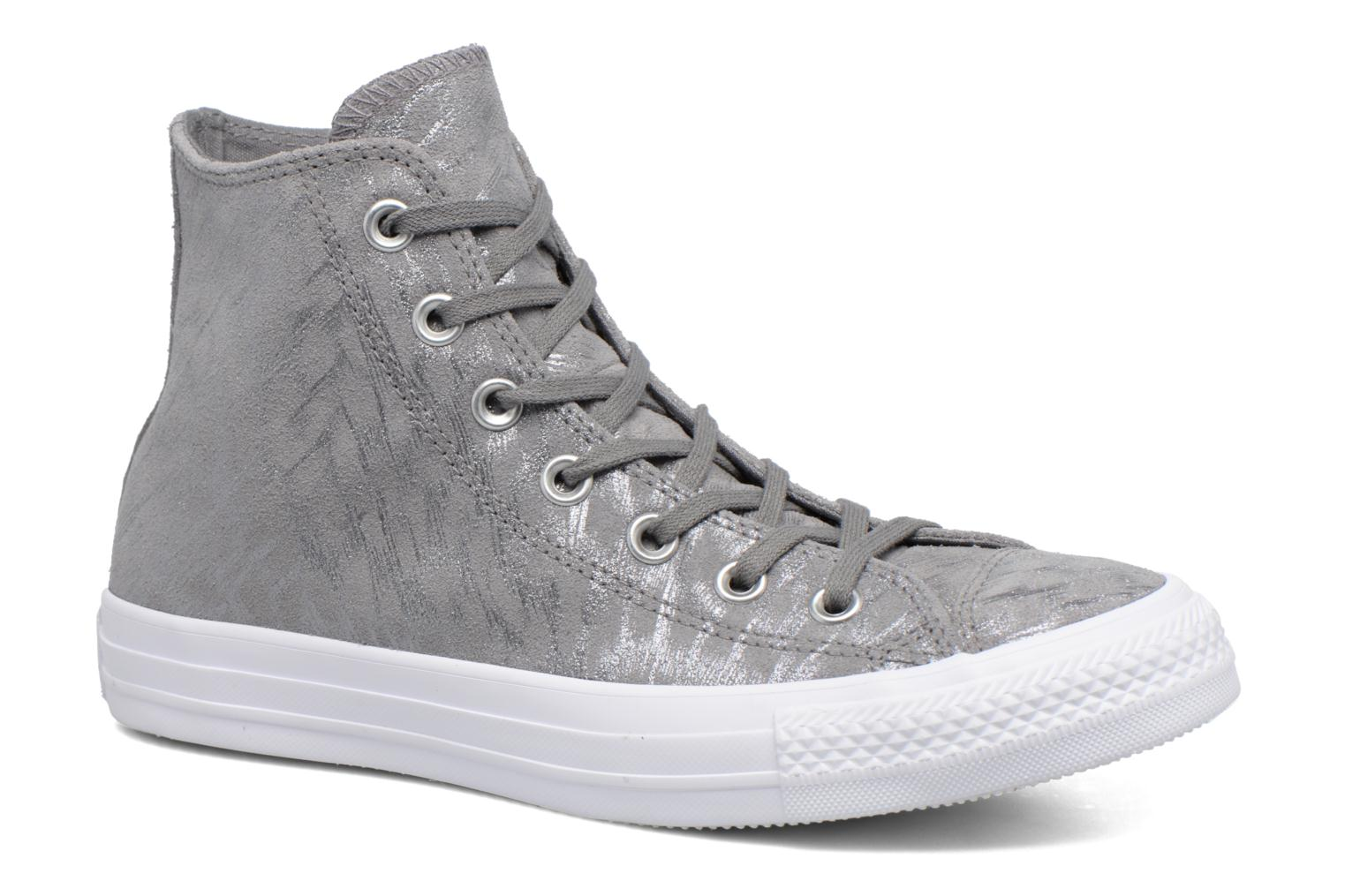 Chuck Taylor All Star Shimmer Suede Hi by Converse