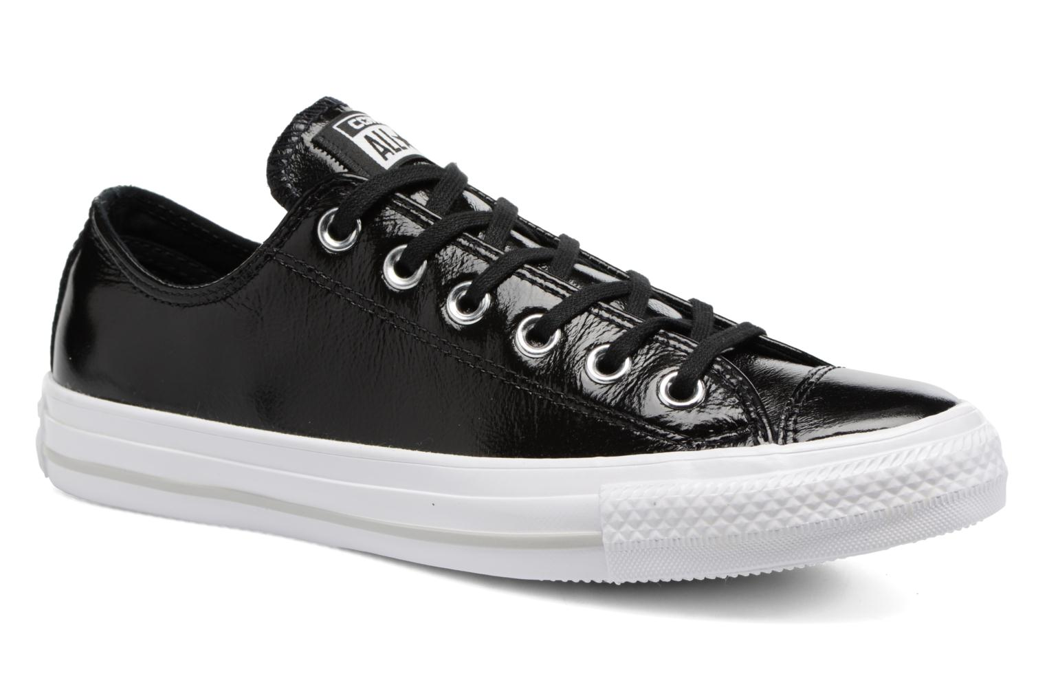 Chuck Taylor All Star Crinkled Patent Leather Ox par Converse