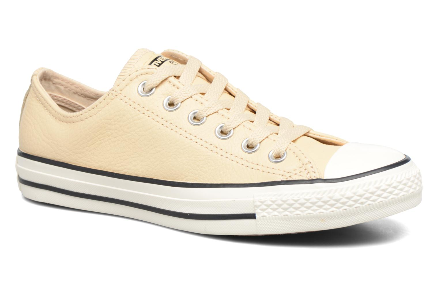 Chuck Taylor All Star Tumbled Leather Ox by Converse