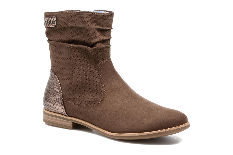 Boots en enkellaarsjes S.Oliver Bruin