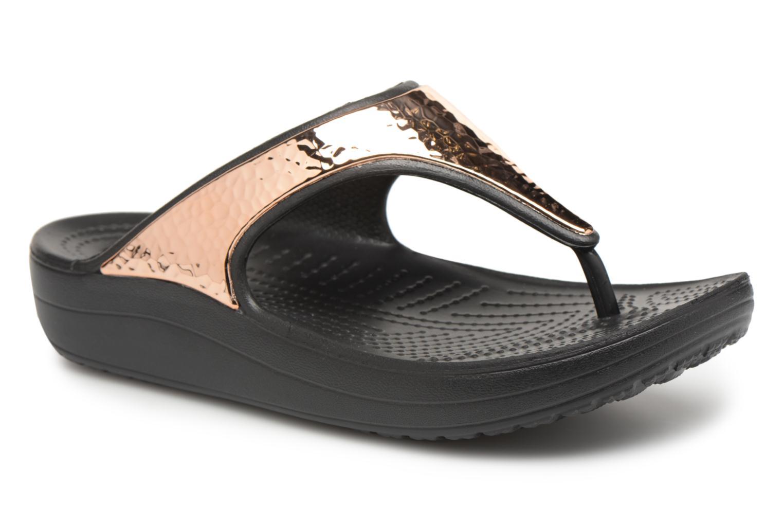 Slippers Sloane Hammered Met Flip W by Crocs