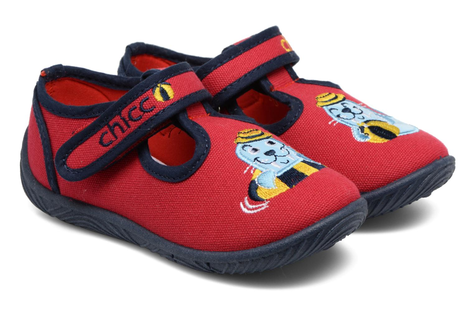 Pantoffels Chicco Rood