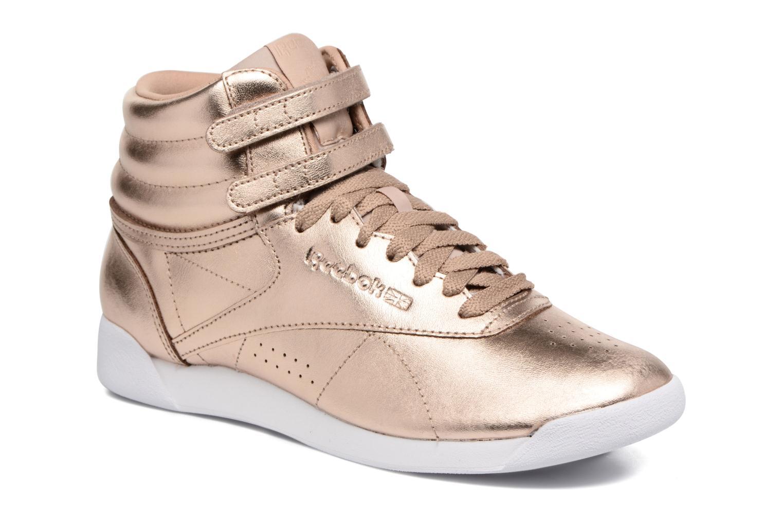Freestyle Hi Metallic - Sneaker für Damen / gold/bronze